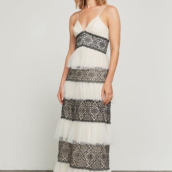 """47ad25e9c066d8 BCBG Max Azria """"Farrel"""" Embroidered Lace Gown"""